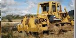 BA & CA Cooper Earthmoving Tracked Dozer