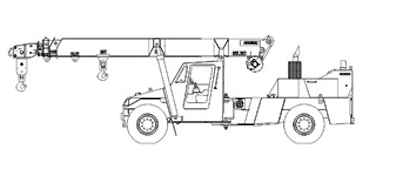 Cranes, Non Slewing Mobile Crane: Less than 10t SWL Hire in