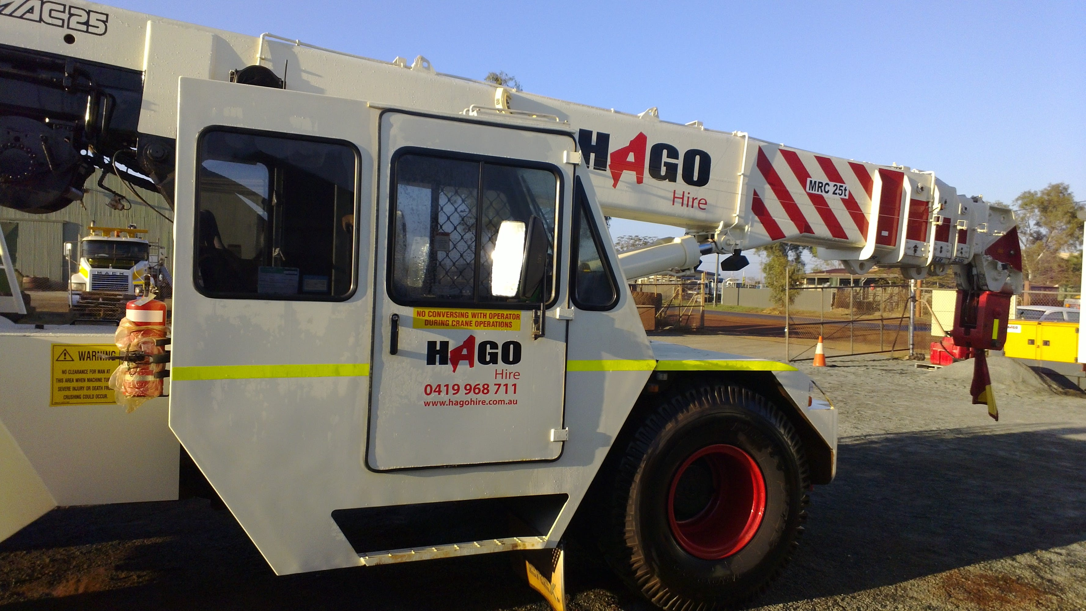 Hago Crane & Machinery Hire