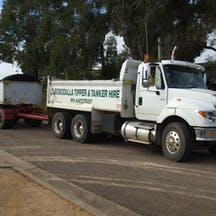 Logo of Eurobodalla Tippers and Tankers