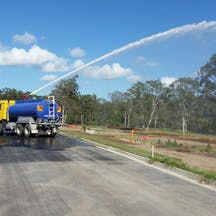 Logo of Water haul QLD