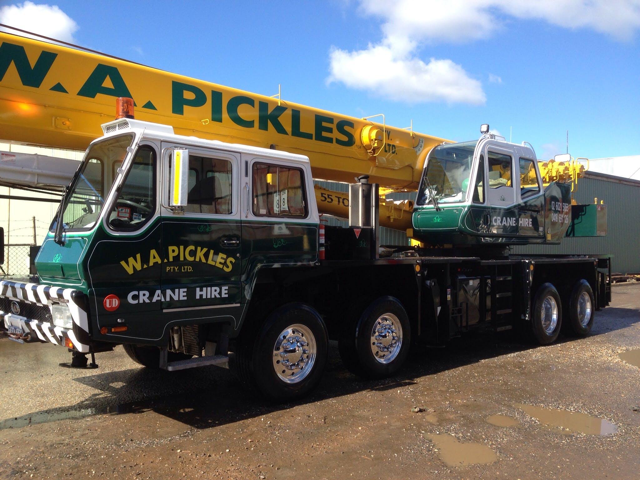 W A Pickles Crane Hire Pty Ltd NSW