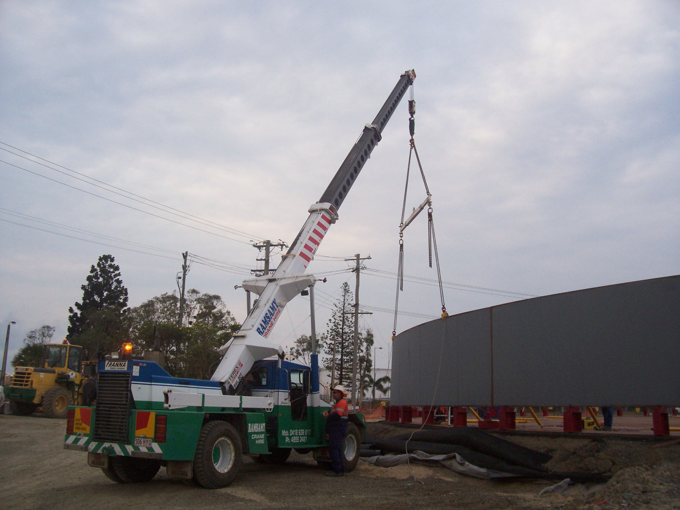 LA & LR Ramsamy Crane Hire Pty Ltd