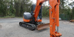 Austcare Environmental Services Track Mounted Excavator