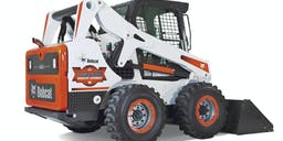 Bobcat and Tipper Wheeled Skid Steer