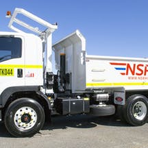 Logo of NSR Hire