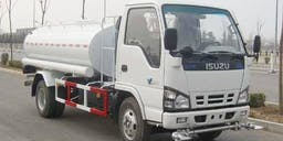 B T L  plant hire Truck Mounted Water Cart