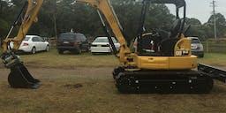 Bill Kenny Excavations Track Mounted Excavator