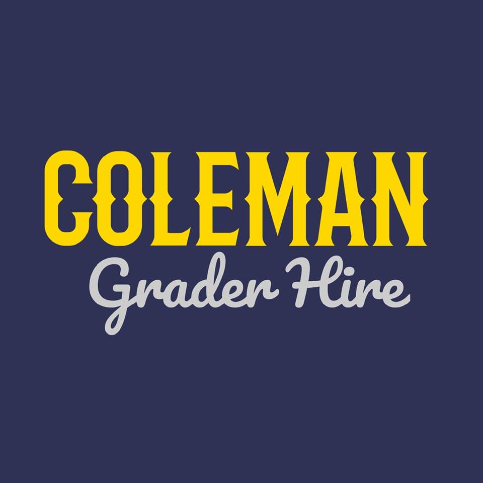 Coleman Grader Hire