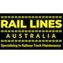 Rail lines Australia  logo
