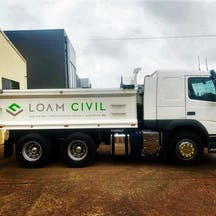 Logo of Loam Civil Pty Ltd