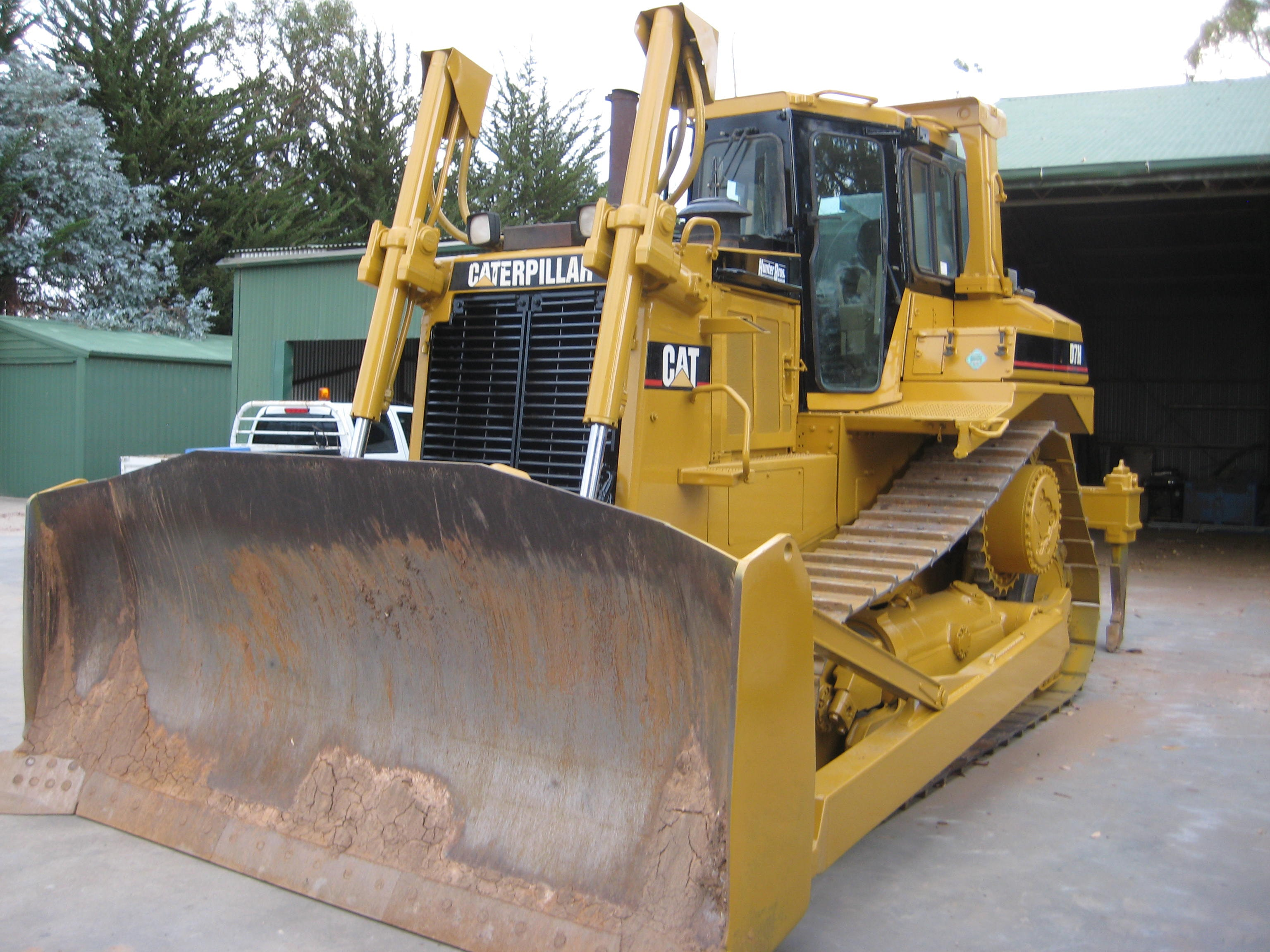 D7 or Equivalent  Dozer for hire - Hunter Bros Earth Movers Pty Ltd