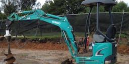 ARP Earthworks Track Mounted Excavator