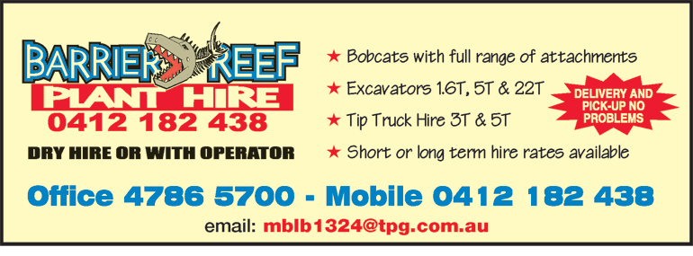 Barrier Reef Plant Hire
