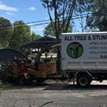 Logo of All Tree & Stump Works