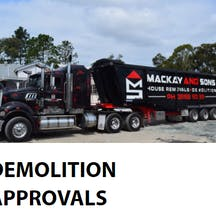 Logo of Mackay and Sons House Removal