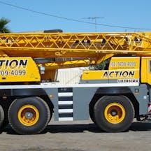 Logo of Action Cranes