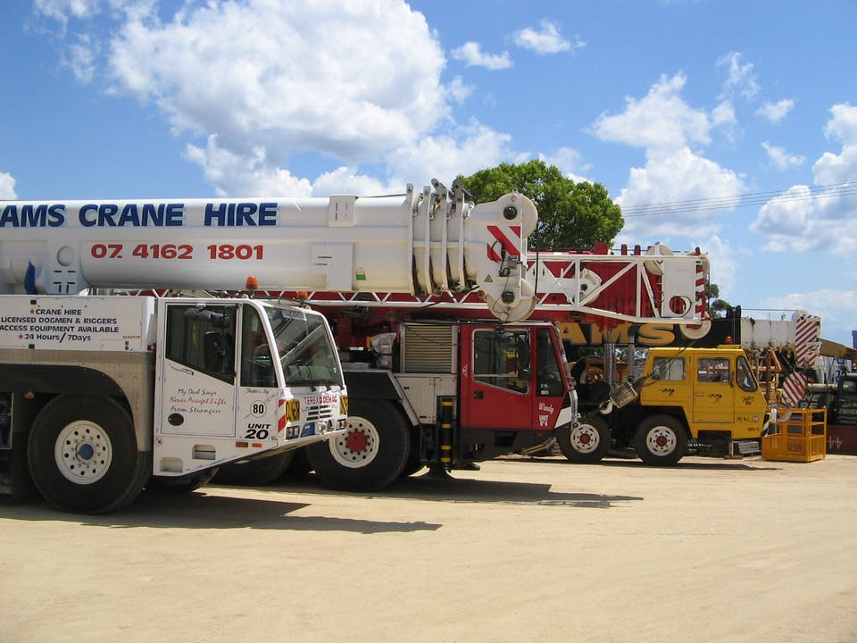 Hams Crane Hire machinery for hire in Kingaroy - iseekplant