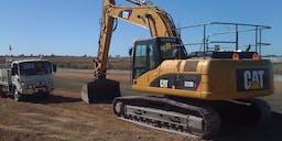 AM Plant & Civil Track Mounted Excavator