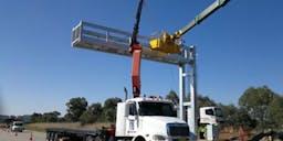 TAV Transcrane Crane Truck