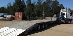 TAV Transcrane Truck Trailer