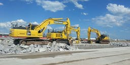 Armstrong Constructions Track Mounted Excavator