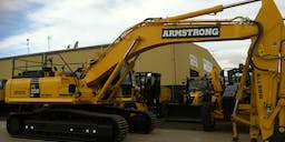 Armstrong Constructions Long Reach Excavator