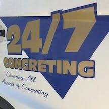 Logo of 24/7 Concreting