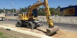 Bancross pty ltd Wheel Mounted Excavator