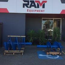 Logo of RAM Equipment Pty Ltd