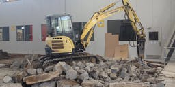 All Dunn Excavations Track Mounted Excavator