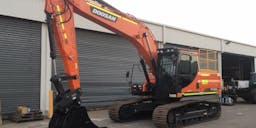 AGS Civil Track Mounted Excavator