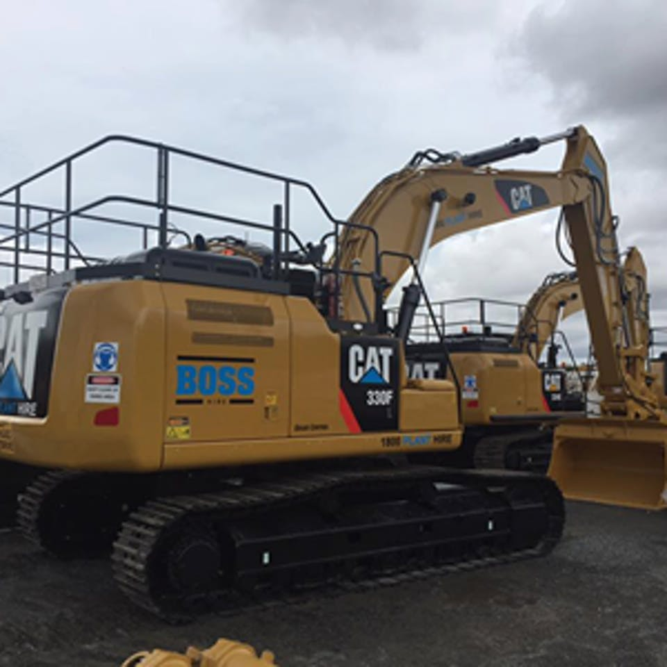Boss Hire Pty Ltd machinery for hire across Australia