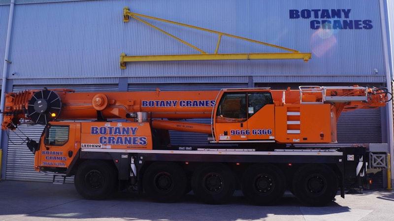 Crane Hire | Botany Cranes