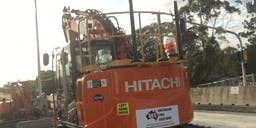 Australian Civil Solutions Track Mounted Excavator