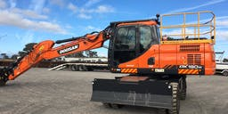 Australian Civil Solutions Wheel Mounted Excavator