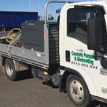 Logo of CJR Concrete Pumping Pty Ltd