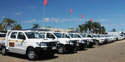 Action Hire Vehicles Utes