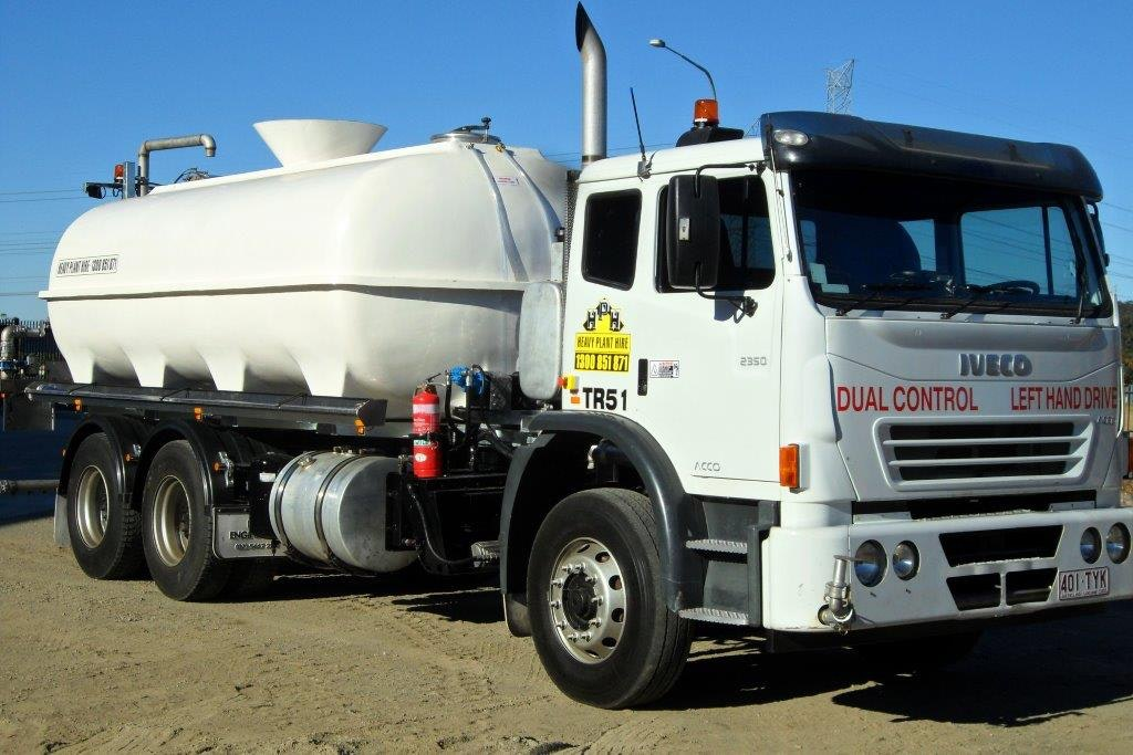 9000 - 16000L Water Cart for hire - RediPlant