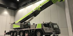 ACM Hire Mobile Slewing Crane