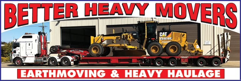 Better Heavy Movers Pty Ltd