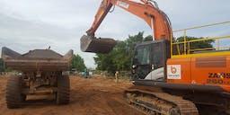 Bennett Plumbing & Civil Track Mounted Excavator