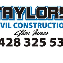 Logo of Taylors Civil Construction