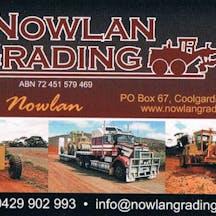 Logo of Nowlan Grading