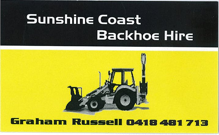 Sunshine Coast Backhoe Hire