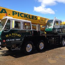 Logo of W A Pickles Crane Hire Pty Ltd NSW