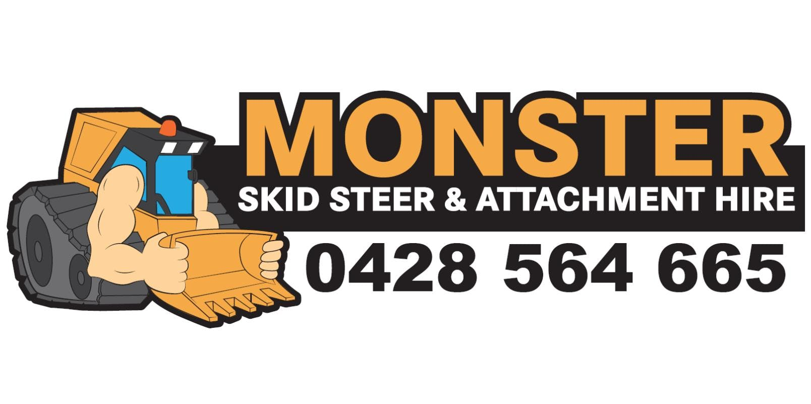 Monster Skid Steer & Attachment Hire