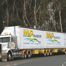 Logo of M&P Services