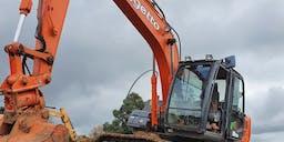 Meggetto Asphalt and Civil Track Mounted Excavator
