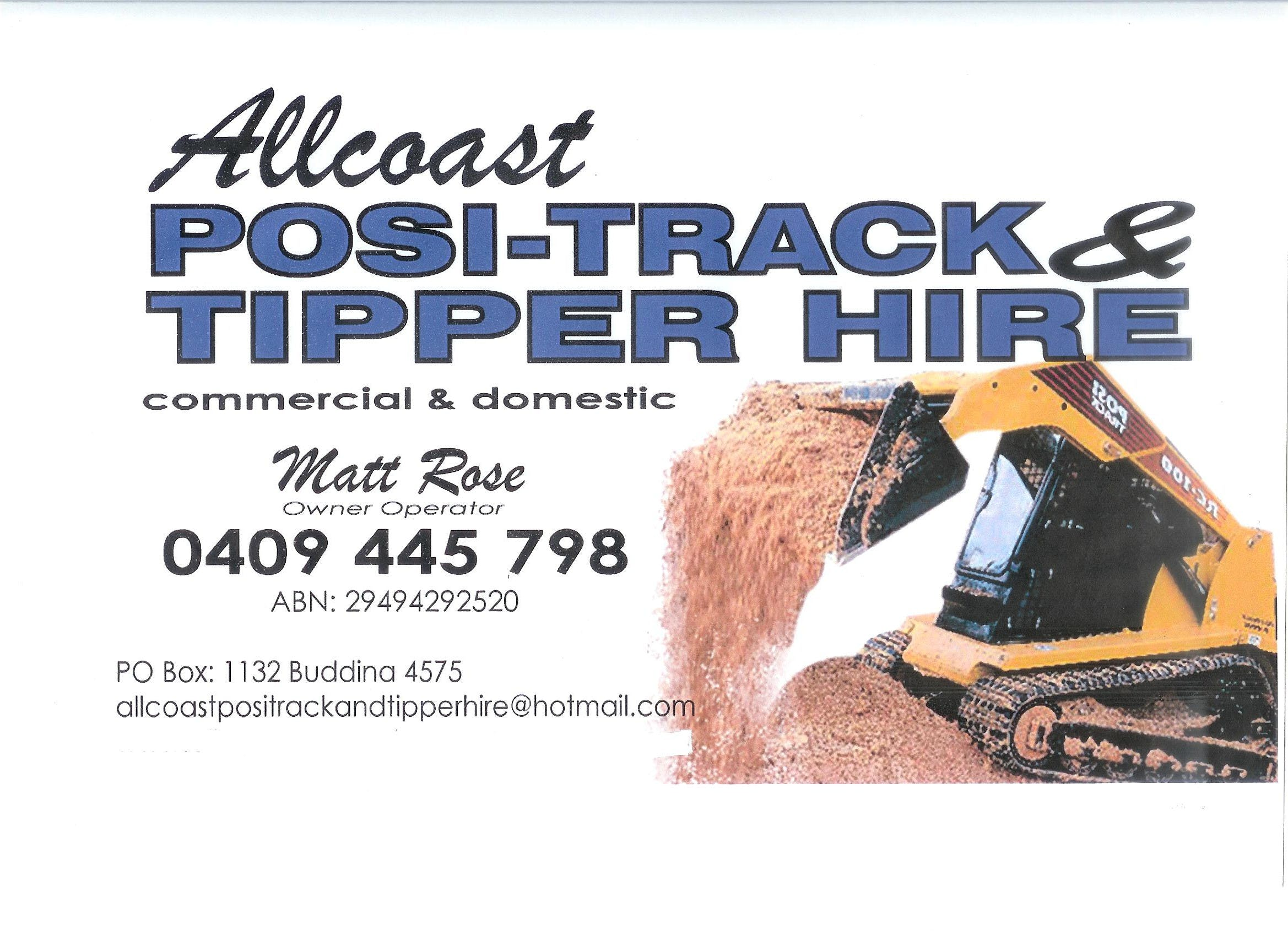 Allcoast Positrack and Tipper Hire